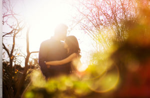Getty Center Engagement Session