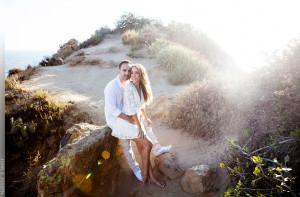 Point Dume Malibu Engagement Session Photographer