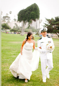 MIlitary Wedding in San Diego