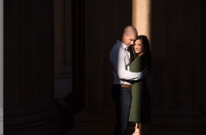 Palace of Fine Arts San Francisco Engagement Session