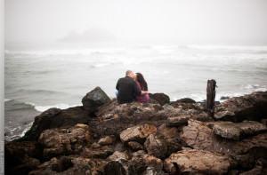 Sutro Baths San Franscisco Engagement Session