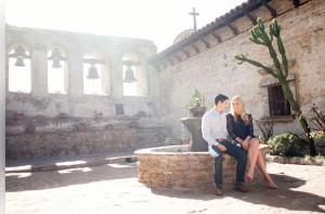 Mission San Juan Capistrano Engagement Session Photographer