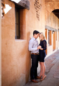Mission San Juan Capistrano Engagement Session Photographer
