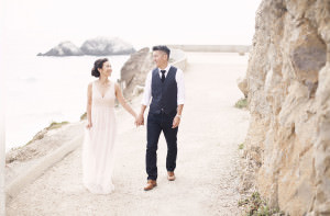 Engagement Session at the Sutro Baths in San Francisco