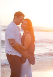 Santa Monica Beach Engagement Session Photographer