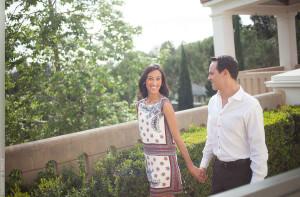 Getty Villa Engagement Session Photographer