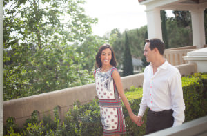Getty Villa Engagement Session Photographer