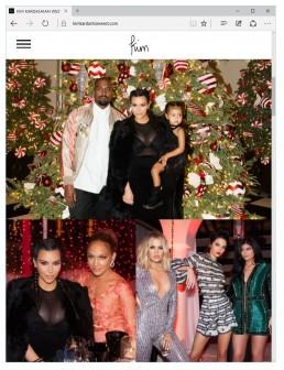 Photographed Kim Kardashian, Kris Jenner, Kendall Jenner, Khloe Kardashian, Kylie Jenner, Kanye West, North West, Jennifer Lopez, JLO