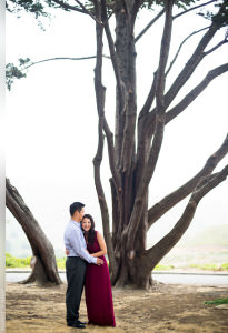 Engagement Session at the Lands End in San Francisco Golden Gate National Recreation Area