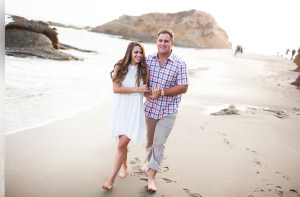 Laguna Beach Engagement Session photographed by John and Joseph Photography