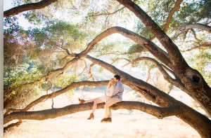 Samantha and Corey's Engagement Session in Malibu