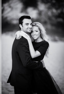 Samantha and Corey's Engagement Session in Malibu