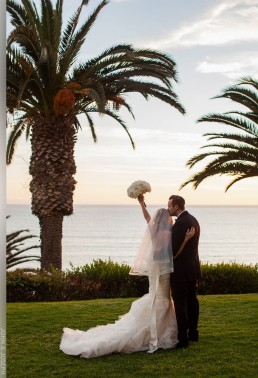 Sarah Knight and Bryce Stowell wedding at The Bel-Air Bay Club, Pacific Palisades, California.