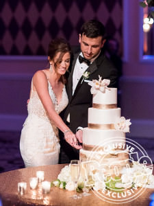 Bachelor in Paradise's Jade Roper and Tanner Toblert's wedding photographed by John and Joseph Photography Inc.