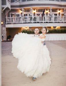 Hotel Casa del Mar wedding of Brandie and Jared
