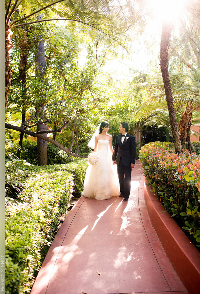Beverly Hills Hotel Wedding of Stephanie and Gerald