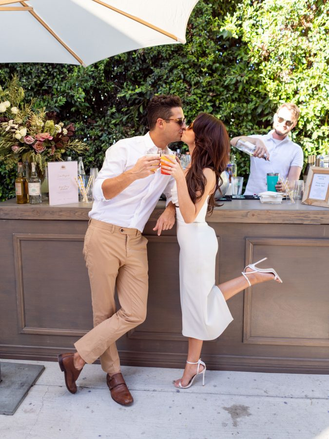 Modern Family's Sarah Hyland and The Bachelorette's Wells Adams Engagement Party