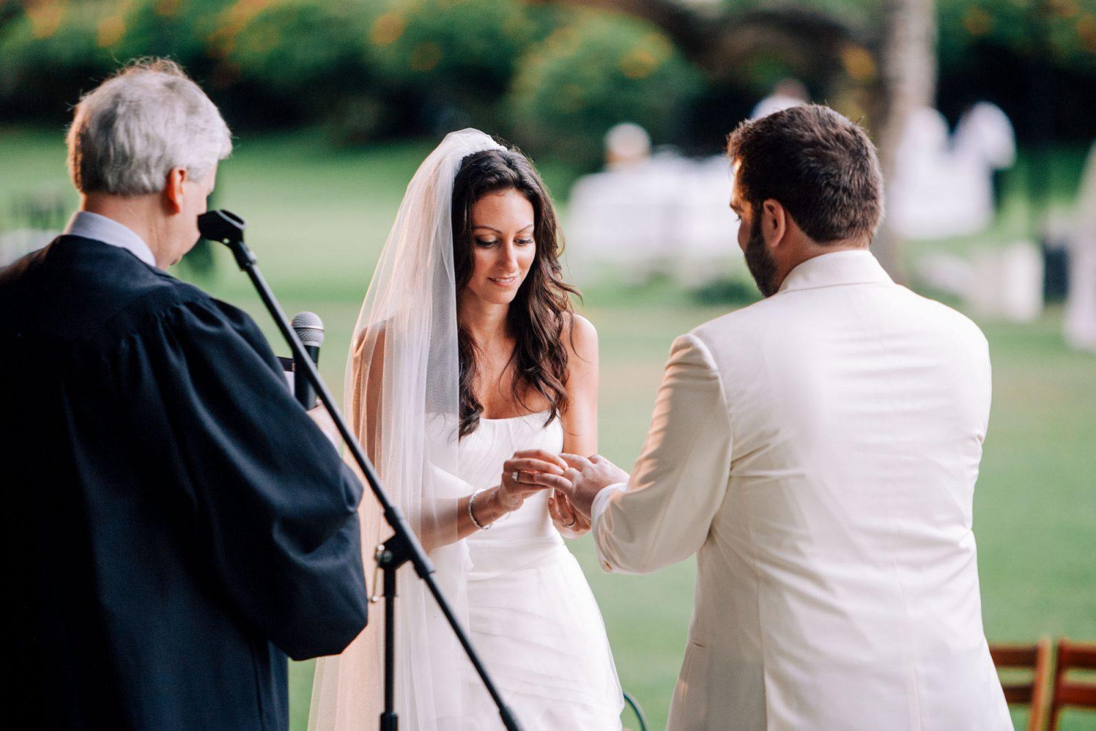 wedding at four seasons, lanai, hawaii