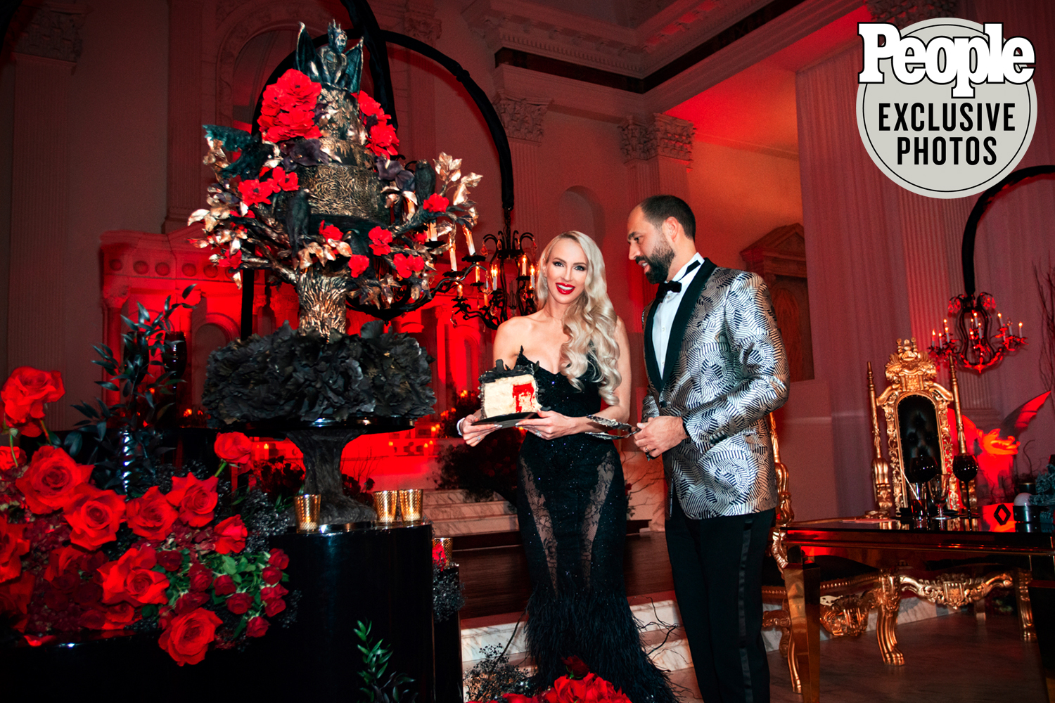 Selling Sunset's Christine Quinn's Gothic Winter Wonderland Wedding