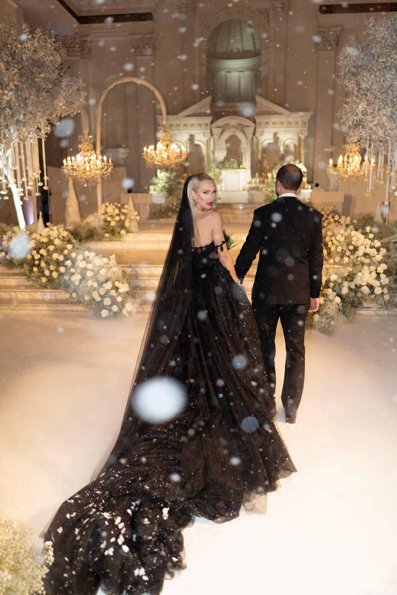 Selling Sunset's Christine Quinn's Winter Wonderland Wedding