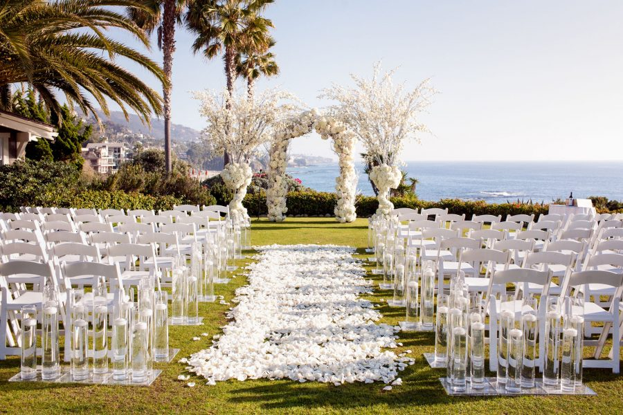 wedding at montage laguna, laguna beach, california