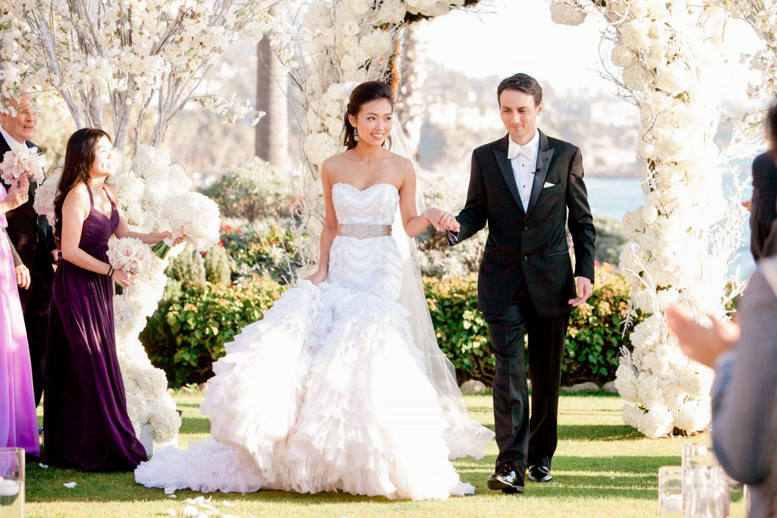 wedding at montage laguna, laguna beach, california
